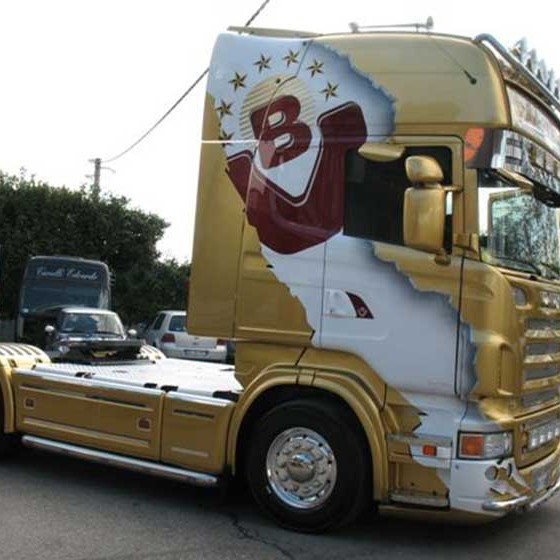 camion-oro